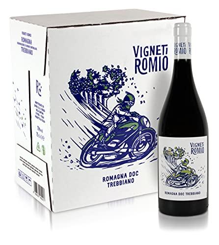 Vigneti Romio Romagna DOC Trebbiano - Confezione da 6 bottiglie