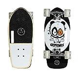 Kryptonics Stubby 19 Inch Complete Skateboard - Panda Vibes