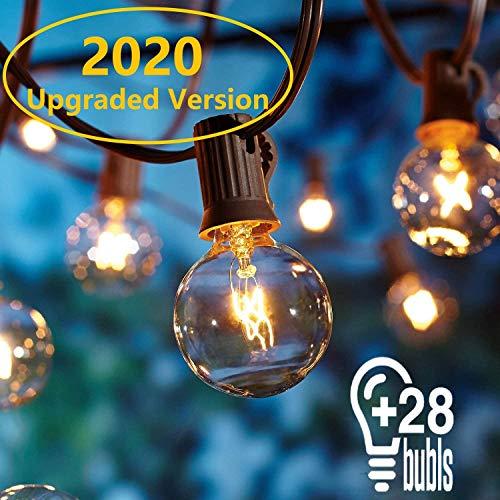 OxyLED Catene luminose, 25ft G40 luci esterne a corda, [Versione aggiornata] luci all'aperto della...