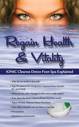 10 PACK! REGAIN HEALTH & VITALITY! IONIC CLEANSE DETOX FOOT SPA EXPLAINED.
