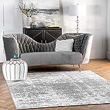 nuLOOM Misty Shades Deedra Area Rug, 7' 6' x 9' 6', Grey
