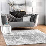 nuLOOM Misty Shades Deedra Area Rug, 6' Square, Grey