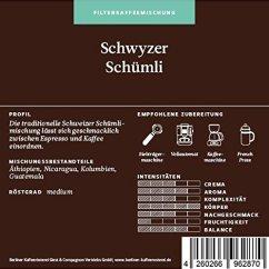 Berliner Kaffeerösterei Schwyzer Schümli