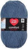 Red Heart Comfort Sport Yarn, Denim