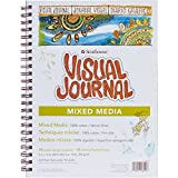 Strathmore 460-19 500 Series Visual Mixed Media Journal, Vellum, 9'x12', 34 Sheets