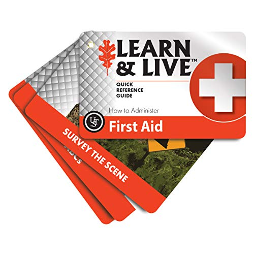 Ultimate Survival Technologies Learn & Live First Aid Cards