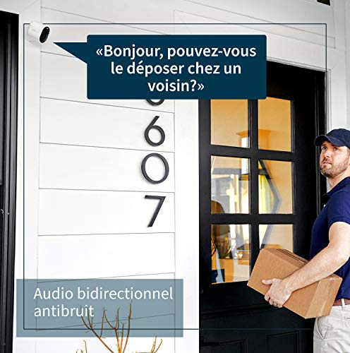 51Bqi9e94gL._SL500_ [Bon plan] Pack Arlo composé de : Caméra Ultra 4K Hdr Avec Station D'Acceuil et Support Aimanté Blanc Conçu Pour Arlo Ultra Et...