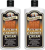 Parker and Bailey Kitchen Cabinet Cream - Wood Cleaner and Furniture Polish- Kitchen Cleaner and Cabinet Grease Remover- Wood Polish- 16 Ounce (2)