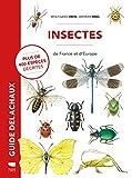 Insectes de France et d'Europe - Plus de 400 espèces décrites