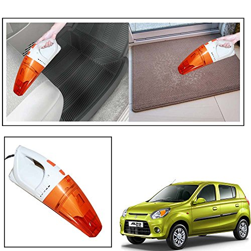 Vheelocityin Speedmax Dry and Wet Chargeable 100W Vacuum Cleaner for Car and Home for Maruti Suzuki Alto 800 1
