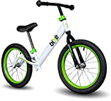 Green Pro Balance Bike for Big Kids and Kids with Special Needs - 16' No Pedal Glide Training...