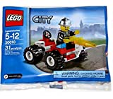 LEGO City Exclusive Mini Figure Set #30010 Fire Chief Bagged (Toy)