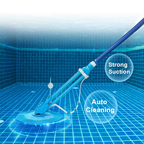 MTFY Automatic Pool Cleaner Suction Swim Pool Vacuum