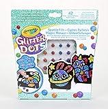 CRAYOLA - Glitter Dots Magici Mosaici, Set per Giocare e Creare con Il Glitter Modellabile, 04-0801