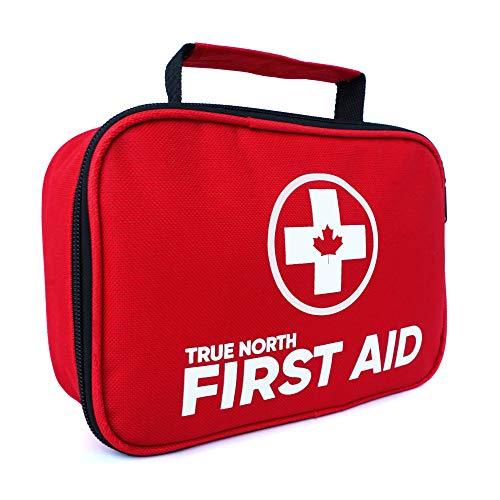 First Aid Kit - True North 120-piece First Aid Kit + Bonus 30-Piece Mini Kit - 152 Pieces Total