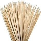 ORANGE DEAL 100 Lagerfeuerspieße 90 cm x Ø6mm aus Bambus zum Rösten von Stockbrot, Marshmallows, Bratwürsten Maiskolben für Gartenparty ohne Reinigen rostfrei