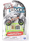 TD BMX Freestyle Hits WETHEPEOPLE Brown & Orange Finger Bike with Gate Obstacle