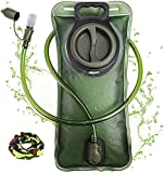 Poche Hydratation, Poche à eau 2 L avec système anti-fuite, Poche a Eau Sac a Dos Portable...