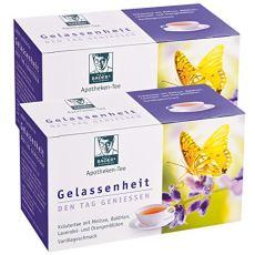 Farmacie serenità da tè lavanda-Valeriana Melissa. Il giorno, godere nella notte dormire bene. Vantaggio confezione 2x 20BTL (80g).pharmazentralnummer: 09738486