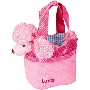 Coppenrath 13542 Peluche Caniche Luna con Bolsa Rosa
