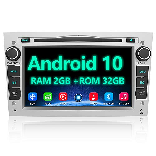 AWESAFE Android 10 Autoradio für Opel 2DIN Radio mit Navi, unterstützt...