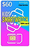 Kids Smart Watch SIM Card for 4G LTE GSM Smartwatches and Wearables - 12 Months Service