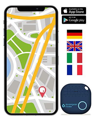 Musegear Bluetooth keyfinder | Werkt met de Musegear app | Zender en locator in één | Geen extra apparaat nodig