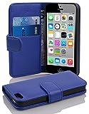 Cadorabo Coque pour Apple iPhone 5C en Bleu CÉLESTE - Housse Protection en...