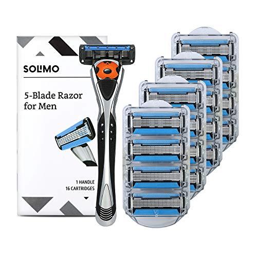 Amazon Brand - Solimo 5-Blade MotionSphere Razor...