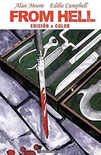 From Hell Edición a color (novela gráfica) (Biblioteca Alan Moore)