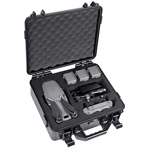 Smatree Custodia rigida per DJI Mavic 2 Zoom/Mavic 2 Pro fly more kit (Drone e accessori non inclusi)