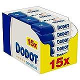 Dodot Toallitas Sensitive para Bebé, 810 Toallitas, 15 Paquete (15x54), Óptima...