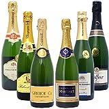 高コスパ・高品質シャンパン6本セット((W0CN06SE))(750mlx6本ワインセット)
