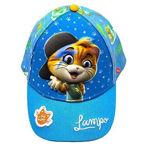 44 Gatti Cappello da Sole con Personaggio in Rilievo Lampo