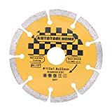 AUTOTOOLHOME 4 1/2-inch Diamond Blade Angle Grinder Dry Cutting Wheel Grinding Stone Brick Concrete Ceramic Tile Cut Off Wheels Disc