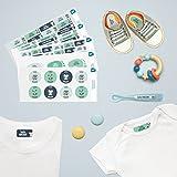 Pack 167 étiquettes personnalisées Crèche Animaux par Ludilabel   Haute...