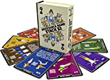 Stack 52 Resistance Band Exercise Cards. Exercise Band Workout Playing Card Game. Video Instructions Included. Home Fitness Training Program for Elastic Rubber Stretch Band Sets. (Updated Deck)