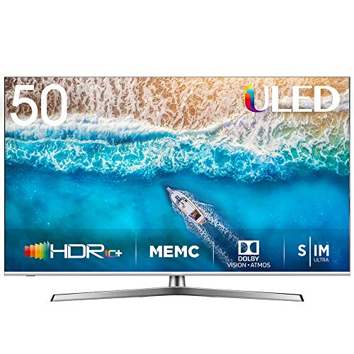 Hisense H50U7BE - Smart TV ULED 50' 4K Ultra HD con Alexa Integrada,...