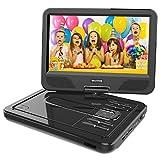 WONNIE 2020 Upgrade 12.5' Lecteur DVD Portable avec écran Rotatif à...