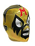 MIL MASCARAS Adult Lucha Libre Wrestling Mask (pro-fit) Costume Wear - Yellow