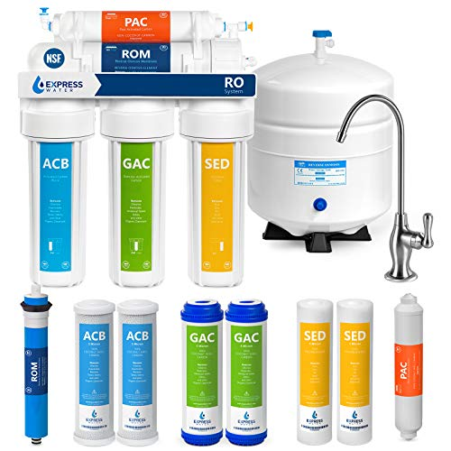 Express Water RO5DX Reverse Osmosis Filtration NSF Certified...