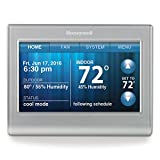 Honeywell RTH9580WF Wi-Fi Smart Touchscreen Thermostat, Silver