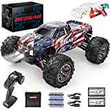 BEZGAR HM163 Hobby Grade 1:16 Scale Remote Control Truck, 4WD High Speed 40+ kmh All Terrains...