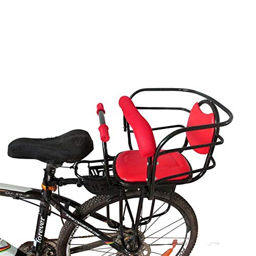 SRSGF Child Bicycle Seat,Bicycle Rear Seat Bicycle Child Seat,for Adult Bike Attachment