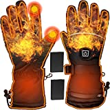 Heated Gloves Electric Heating Gloves| Adjustable USB Rechargeable 3500mAh Touchscreen Waterproof...