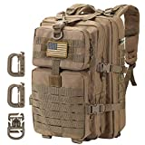Hannibal Tactical 36L MOLLE Assault Pack, Tactical Backpack Military Army Camping Rucksack, 3-Day...