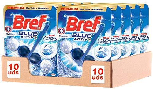 Bref Blue Active Higiene, Colgador WC con 50% más de Brillo