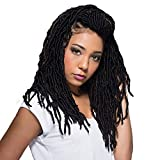 Bobbi Boss Synthetic Hair Crochet Braids African Roots Braid Collection Nu Locs 14' (4-PACK, 1)