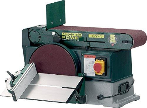 Band-Tellerschleifer BDS 250-1000 Watt - 5 Jahre Garantie