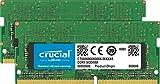 Crucial CT2K16G4S266M 32GB Speicher Kit (16GB x2) (DDR4, 2666 MT/s, PC4-21300, CL19, Dual Rank x8, SODIMM, 260-Polig für Mac)